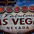 Welcome To Fabulous Las Vegas 2 by Doug Sturgess