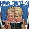 Welcome To Our Lake House by Anne Gordon