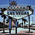 Welcome To Vegas  by George Pedro