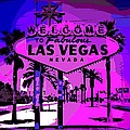 Welcome To Vegas No.2 by George Pedro