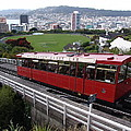 Tram Car Viewpoint - Wellington, New Zealand by Ian Mcadie