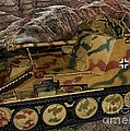 Wespe 105 Mm Self-propelled Gun by Tommy Anderson