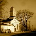 West Barre Church by Arthur Barnes