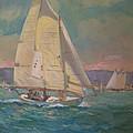 West Coast Sailing by Bart DeCeglie