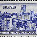 West Point Postage Stamp by James Hill
