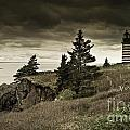 West Quoddy Head Lighthouse by Alana Ranney