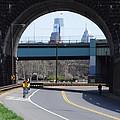 West River Drive Philadelphia by Bill Cannon