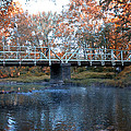 West Valley Green Road Bridge Along The Wissahickon Creek by Bill Cannon
