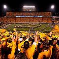 West Virginia Milan Puskar Stadium by Lance King