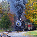 Western Maryland Steam Train by Jack Schultz