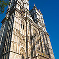 Westminster Abbey London by Andrew  Michael