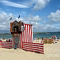 Weymouth Punch And Judy 3 by Lesley Giles