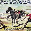 W.f. Cody Poster, C1885 by Granger