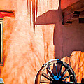 Wheel And Ice by Charles Muhle
