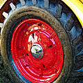 Wheel On The Truck That Rolled Over Kodak by Peter J Sucy
