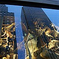 Monkeys On A Skyscraper by Stefa Charczenko