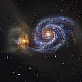 Whirlpool Galaxy by R Jay GaBany