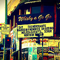 Whisky A Go Go Bar On Sunset Boulevard by Susanne Van Hulst