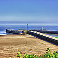 Whitby Harbour View by Trevor Kersley