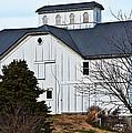 White Barn by Edward Peterson