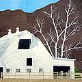 White Barn by Jim Gerkin