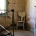 White Chair In The Bedroom by Lorraine Devon Wilke