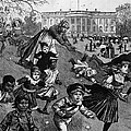 White House: Easter, 1887 by Granger