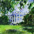 White House by John D Benson