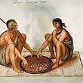 White: Native Americans Eating by Granger