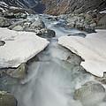 White River Rapids Arthurs Pass Np by Colin Monteath