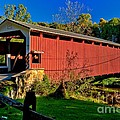 White Rock Forge Covered Bridge by Nick Zelinsky