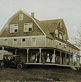 White Roe Boarding House-owner E Keene Prior To My Grandfather. Circ 1900s by Ericamaxine Price