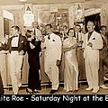 White Roe Lake Hotel-livingston Manor-saturday Night At The Bar by Ericamaxine Price