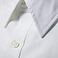 White Shirt Collar Detail. by Ballyscanlon