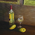 White Wine And Mangoes by Alan Mager