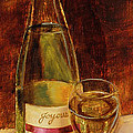 White Wine-joyous by Vic  Mastis