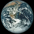 Whole Earth, Showing Antartica, Africa And Arabia by Nasa