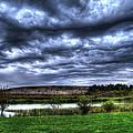 Wicked Wave Clouds by Jackie Novak