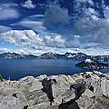 Wide View Of Crater Lake by Greg Nyquist