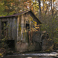 Wilbanks Mill On Dicks Creek by John Arnaldi