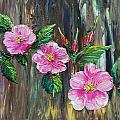 Wild Roses 09 by Dee Carpenter