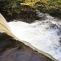 Wilderness Waterfall Autumn Stream by John Stephens