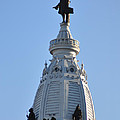 William Penn - On Top Of City Hall by Bill Cannon