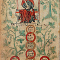 William The Conqueror Family Tree by Photo Researchers