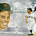 Willie Mays - The Greatest by George  Brooks