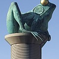Willimantic Frog Bridge by Michelle Welles