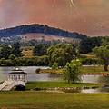 Willow Lake Series II  by Kathy Jennings