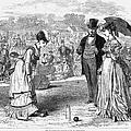 Wimbledon: Croquet, 1870 by Granger