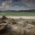 Wind Storm On Lake Pukaki by Colin Monteath