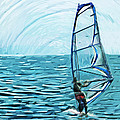 Wind Surfer by Tilly Williams